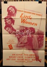 "HS Little Women Original Movie Poster 1962 Release 27""x41"" FINE"