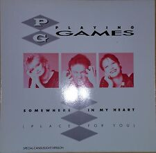 "Playing Games - Somewhere In My Heart, 1987, 12"" Maxi, MSA Records ‎– ZT 41128"