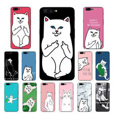 For OnePlus 3 3T 5T 6 Case Ultra Thin Soft TPU Shockproof Slim Back Cover W/Cats