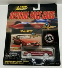 Johnny Lightning Official Pace Cars 1992 Cadillac Allante WHITE LIGHTNING HTF