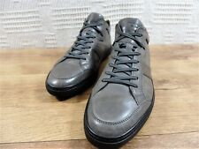 Tods Boxed Bags low boot sneaker trainers Black Grey Italian UK 9 US 10 EU 43