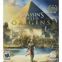 Assassin's Creed Origins Standard Edition For PlayStation 4 PS4 Very Good 0E