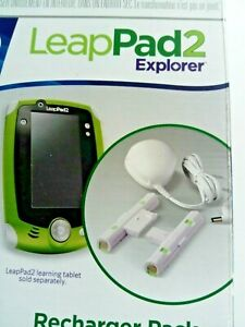 Leapfrog Leappad 2 recharger pack batteries and charger Unboxed tab not included