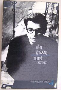 Allen GINSBERG Journal 1952/1962 Christian Bourgois  1996 TBE