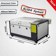 New! RUIDA 60W Laser Engraving & Cutting machine With Motorized Table 16''x24'