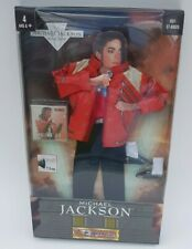 """Michael Jackson Beat It outfit for 12"""" Black Or White for singing doll cassette"""