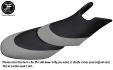 BLACK GREY CUSTOM FOR SEADOO 02-06 GTX DI 4-TEC FRONT + REAR VINYL SEAT COVERS