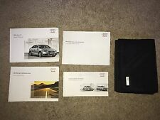 2009 Audi A4 Owners Manual Set with Case OEM