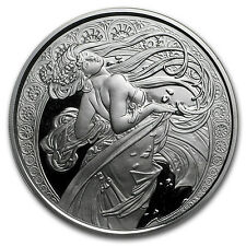 1 oz Silver Proof Round Mucha Collection (Dance) - SKU #132245