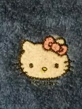 Personalized Embroidery Baby Fleece Blanket With Hello Kitty