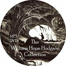 William Hope Hodgson Audiobook Collection in English on 1 MP3 DVD Free Shipping