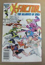 X-FACTOR #5 vs The Alliance of Evil! 1986 1st Apacalypse Cameo