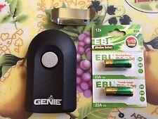 Genie Intellicode Model ACSCTG Type 1 Garage Door Opener Remote with Visor Clip