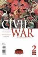 Civil War #2 Marvel comic 1st Print 2016 unread NM