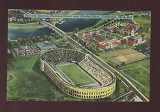 USA FOOTBALL Harvard Stadium Cambridge Mass c1920/30s? PPC
