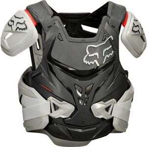 Fox Airframe Pro CE Chest Armour Motocross Motorcross - Grey - L / XL
