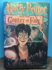 Harry Potter and the Goblet of Fire, J.K. Rowling Hardback 2000 American Edition