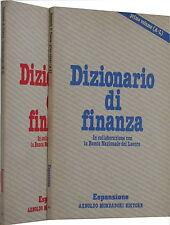 DIZIONARIO DI FINANZA - MONDADORI (N08)