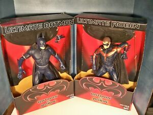 "Kenner Ultimate Batman & Robin Batman and Robin Figures 13"" New in Package"