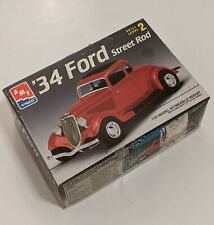 SEALED PARTS - AMT ERTL '34 Ford Street Rod Car 1/25 Scale Model Kit - NICE