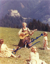 Signed 'Julie Andrews' 8X10 Color RP Photo w/coa   Free Shipping