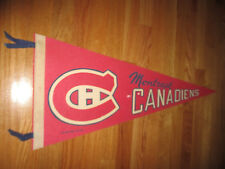 "Dated 1970 MONTREAL CANADIENS 30"" Pennant w/ Cut Tassels"