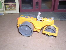 Wiking #65 Power Roller w/Driver - Orange Imported 1966