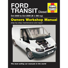 Ford Transit Haynes Manual 2.0 2.4 Diesel 2000-06 Workshop Manual