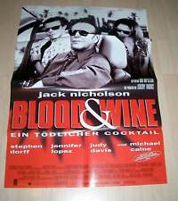 Filmposter A1 Neu Blood & Wine - Ein tödlicher Cocktail