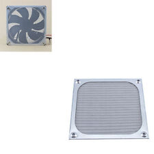 Fan Aluminum Dustproof Cover Dust Filter for PC Cooling Chassis Fan Guard 120mm