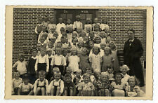 AK Ostfriesland Loquard Krummhörn Landkreis Aurich Einschulung 4.7.1935 Schule