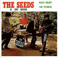 THE SEEDS & SKY SAXON BAD PART OF TOWN REPLICA  RECORDS VINYLE NEUF NEW VINYL