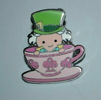 Disney Mad Hatter Alice Wonderland It's A Small Fantasyland Mystery Teacup Pin