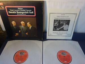 BRAHMS: VIOLIN & DOUBLE CONCERTOS 2LP BOX, George Szell, Oistrakh, EMI SLS 786/2