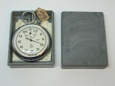 NEW! AGAT Vintage Russian Soviet stop watch stopwatch Chronometer 16 jewels USSR