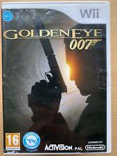 GoldenEye 007 James Bond First Person Shooter Game Nintendo Wii