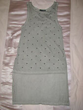 Atmosphere Brand New Ladies Studded Stars Pattern Sleeveless Top Size 8