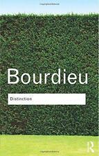 Distinction: A Social Critique of the Judgement of Taste (Routledge Classics) by