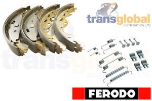 Land Rover Freelander 1.8 / TD4 Brake Shoes & Springs 01-06 - FERODO SFS000030