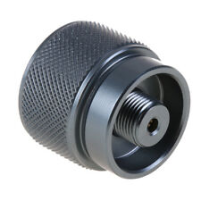 Propane Gas Tank Input EN417 Valve Output Convert Cylinder Canister LPG Adapter