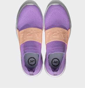 APL TechLoom Bliss Women's Shoe - Sea Urchin / Neon Peach / White - Sz 8 $200