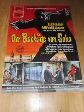 DER BUCKLIGE VON SOHO – Kinoplakat A1 ´66 - EDGAR WALLACE
