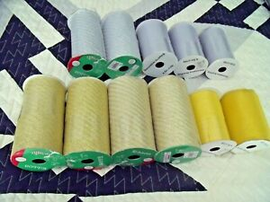 """NEW Lot 11 SILVER & GOLD MESH RIBBON 6"""" Wide & SCARFING 4.5""""  FALL & HOLIDAY"""