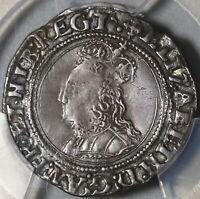 1560 PCGS VF 35 Elizabeth I 4 Pence Britain England Silver Groat Coin (20091301C