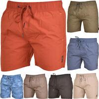 Crosshatch Bermuda Men Shorts Camo Beach Multi-Color Summer Swimwear Trunks