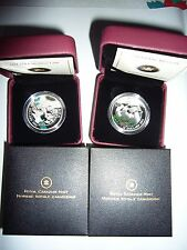 Canada 2011 Little Skatter and Winter Town Silver Coins Perfect Christmas Gifts!