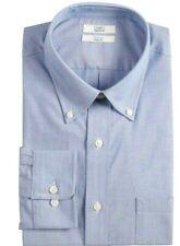 Men's Croft & Barrow Blue Classic-Fit Easy Care Button Down Collar Dress Shirt