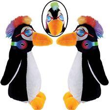 "Plush Penguin w/ Rainbow Mohawk 7.5"" Stuffed Animal Bulk (Pack of 20)"