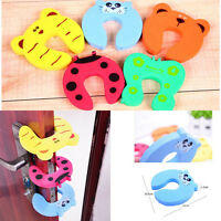 Four Pcs Kid Finger Protector Door Stopper Lock Jammers Pinch Guard Baby Safety