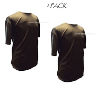 2 PACK - Self Wicking Combat T-Shirt BROWN British Army Military Sport - USED